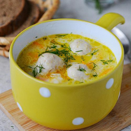 сырный суп для похудения рецепт